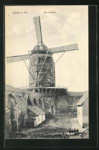 AK Zons, Blick zur Windmühle