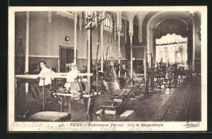 AK Vichy, Établissement Thermal, Salle de Mécanothérapie