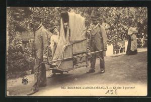 AK Bourbon-l`Archambault, Chaise à porteur
