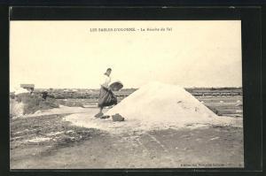 AK Les Sables-d`Olonne, La Recolte du Sel, Salzabbau