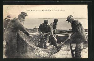 AK Arcachon, Peche a la Senne, Fischerei