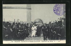AK Dauphiné, Couvent de la Grande Chartreuse, Expulsion des Pères