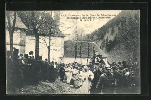 AK Couvent de la Grande Chartreuse, Expulsion des Pères Chartreux