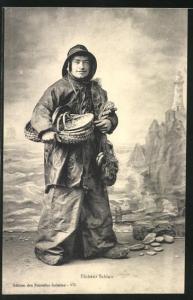 AK Pecheur Sablais, Fischer in einer Studiokulisse