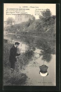 AK Lunel, Pesqua Lune, Angler am Flussufer