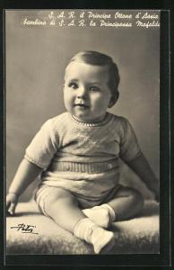 AK Il Principe Ottone d`Assia, Bambino de la Principessa Mafalda