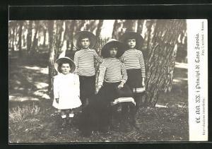 AK I Principi di Casa Savoia, Kinder des Königshauses