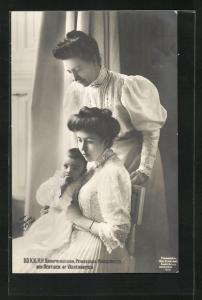 AK D. D. K. K. H. H. Kronprinsessan, Prinsessan Margareta och Hertigen af Västerbotten