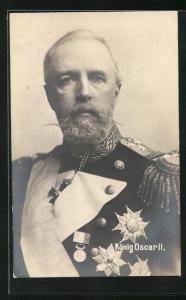 AK König Oscar II. von Schweden