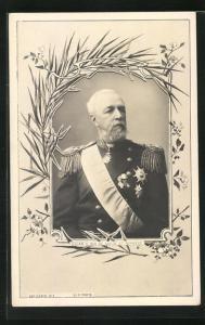AK Oscar II., König von Schweden und Norwegen