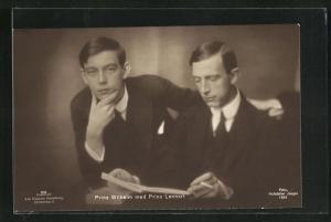 AK Prinz Wilhelm & Prinz Lennart von Schweden