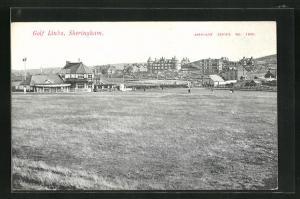 AK Sheringham, Golf Links, Blick auf den Golfplatz