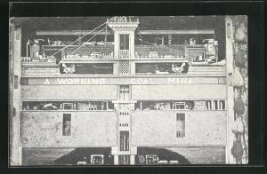 AK A working coal mine, Modellbau-Kohlemine