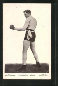 AK Portrait Boxer Bombardier Wells