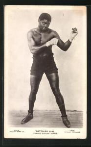 AK Portrait Boxer Battling Siki