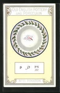 AK Pinxton, No 11, Old English Pottery and Porcelain, Teller