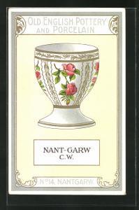 AK Nantgarw, No 14, Old English Pottery and Porcelain, Eierbecher