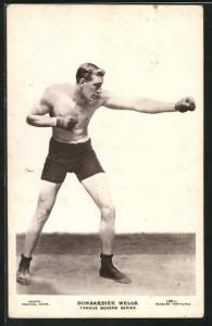 AK Famous Boxers, Bombardier Wells