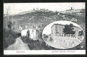 AK Perugia, Grand Hotel Brufani