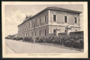 AK Pordenone, Comando d`Artiglieria
