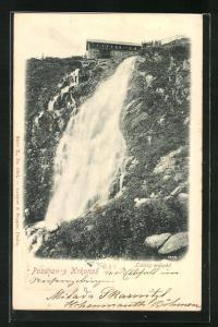 Relief-AK Krkonos, Elbfallbaude