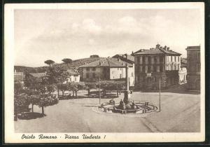 AK Oriolo Romano, Piazza Umberto