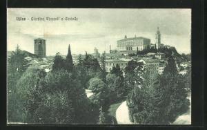 AK Udine, Giardino Ricasoli e Castello