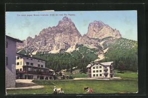 AK Tre croci, gegen Monte Cristallo & Piz Popena