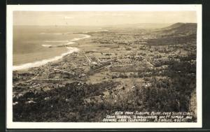 AK N. S. Wales, View from Sublime Point over South Coast