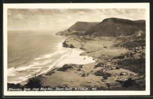 AK N. S. Wales, Stanwell Park from Bald Hill South Coast