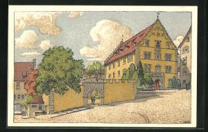 Künstler-AK Schaffhausen, Rathaus