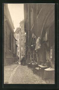 AK Geneve, Ancienne Rue du Purgatoire