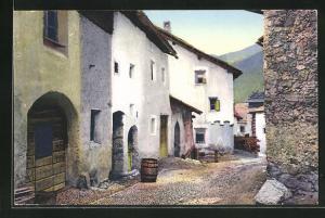AK Zuoz, Engadiner Häuser