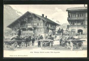 AK Maloja, Osteria vecchia, Villa Segantini