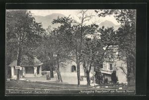 AK Luzern-Hertenstein, Freilicht-Theater, Nordische Heerfahrt von Henrik Ibsen