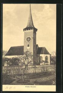 AK Kerzers, Motiv der Kirche