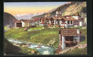 AK Bergün, Dorfpartie