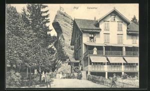 AK Rigi, Gasthaus am Felsentor