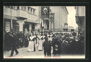 AK Appenzell, Prozession