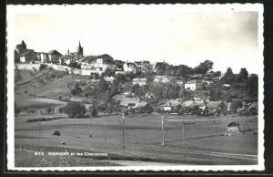 AK Romont, Panorama et les Chavannes
