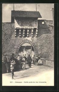 AK Estavayer, Vieille porte du mur d`enceinte