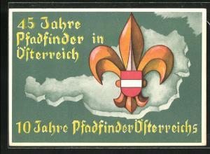 AK 45 Jahre Pfadfinder in Österreich, Kathol. Pfadfinderrat (K.P.R.O.), Weihnachtsgruss