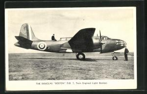 AK The Douglas Boston D.B. 7 Twin Engined Light Bomber