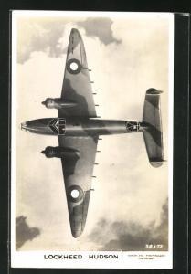 AK Britischer Bomber Lockheed Hudson