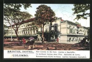 AK Colombo, Bristol Hotel, Rikschas