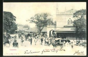 AK Colombo, Pettah and Town hall