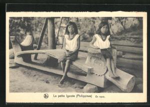 AK Philippines, La petite Igorote, En repos, Kinder