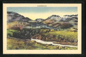 AK Island, Glerardalur