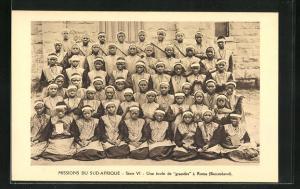 AK Basutoland, Une école de grandes à Roma, Missions du Sud-Afrique