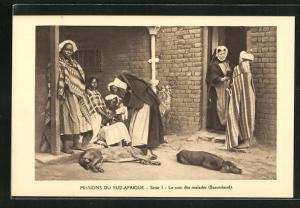 AK Basutoland, Le soin des malades, Missions du Sud-Afrique